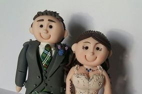 Personalised Cake Toppers by Cheryl
