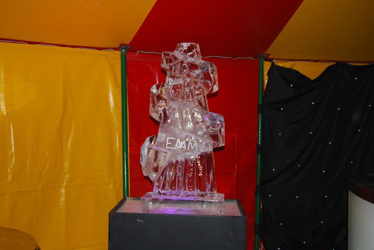 Ice sculpture hire devon