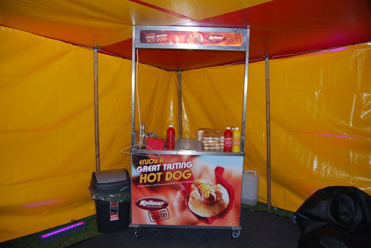 Hot dogs and candy floss hire