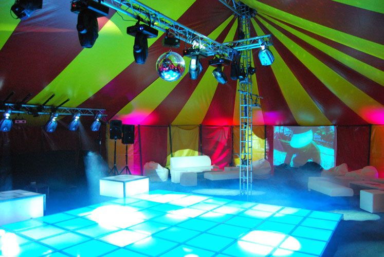 Marquee Furniture Hire Round Tables Devon From Big Top