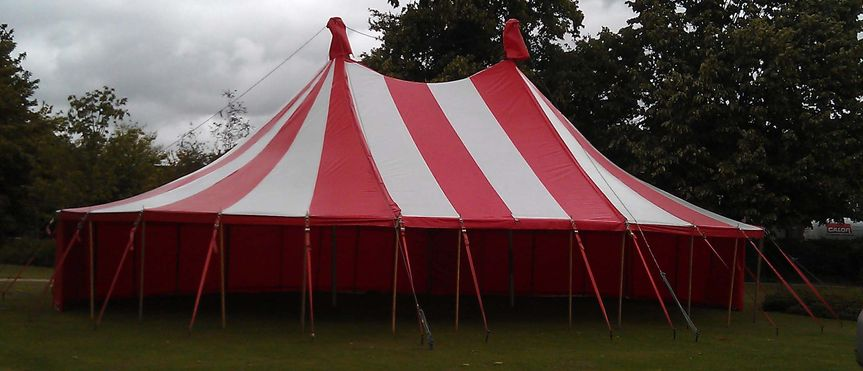 Big Top Mania Marquee hire devoncornwallsomeret & Big Top Mania