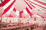 Wedding marquee layout