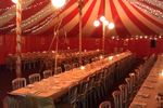 Russian Theme Night party tent, Oxford