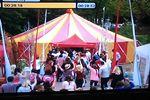 Hollyoaks TV  party scene.