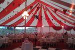 Wedding marquee daytime