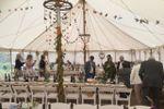 North cornwall wedding tent