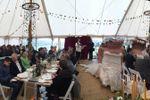 Wedding tent in devon