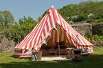 Glam Camping Bell tent hire