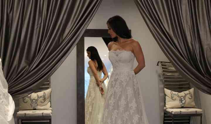 Dress: Louise Bentley Bridal