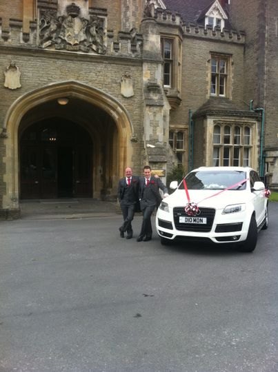 White diamond chauffeur