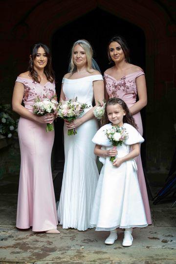 The chief bridesmaid
