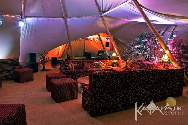 Luxury lounge area