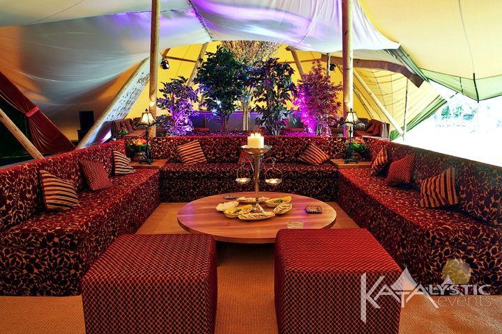 Luxury sofa booth