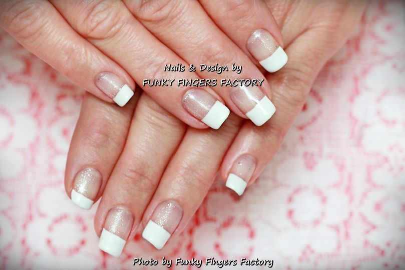 Gelish French manicure