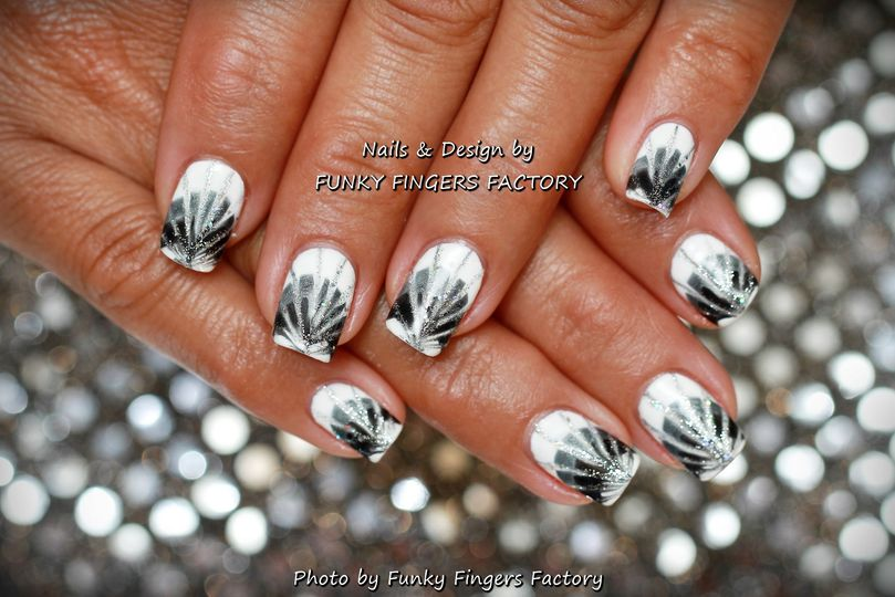Gelish Nail Art From Funky Fingers Factory Photo 24