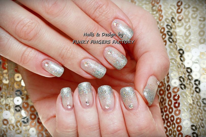 Gelish with Swarovski Crystals