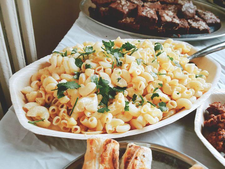 Macaroni Cheese Buffet