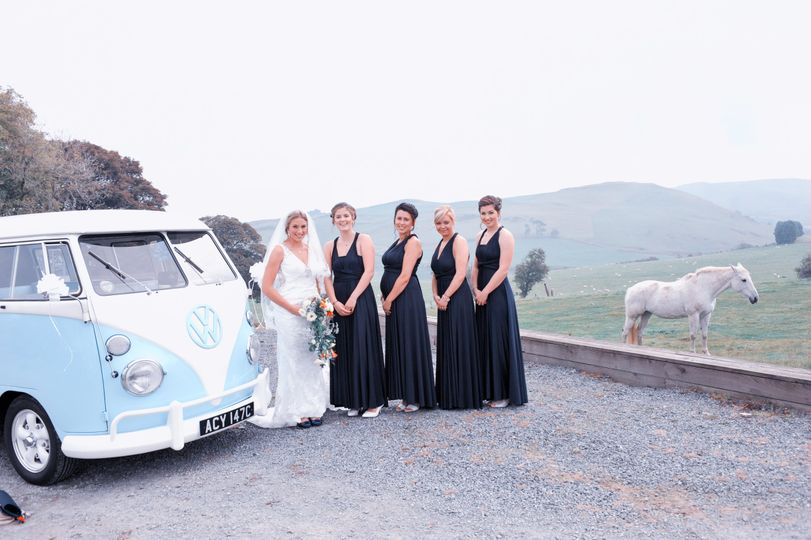 Wedding VW and Horse