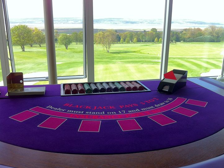 Full size blackjack table