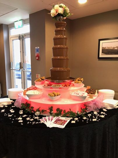 6 tier chocolate fountain