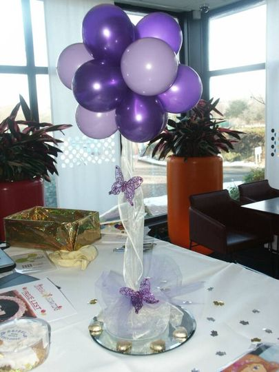 Wedding balloons centerpieces from jesters balloon