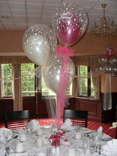 Wedding Reception Balloons From Jesters Balloon Decorations Photos