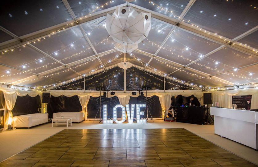 Clear Roof over the Dancefloor
