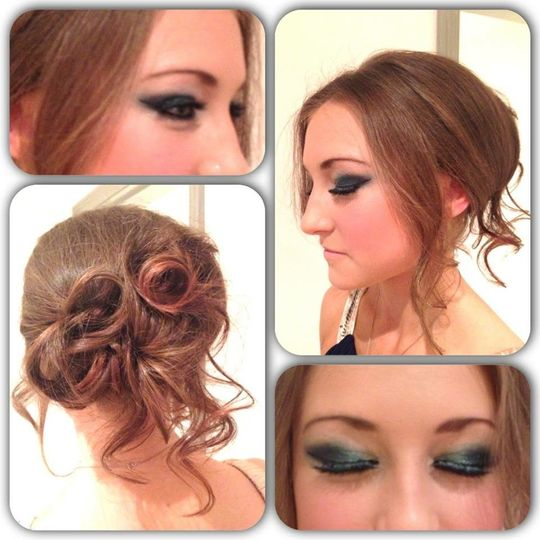 Proms. Danielle Terry Hair and Makeup Artist