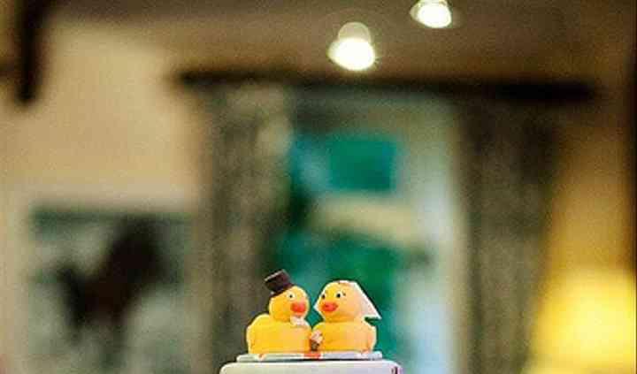 'Rubber Duckie' Cake
