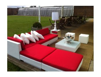 Club Sofas- outdoor seating