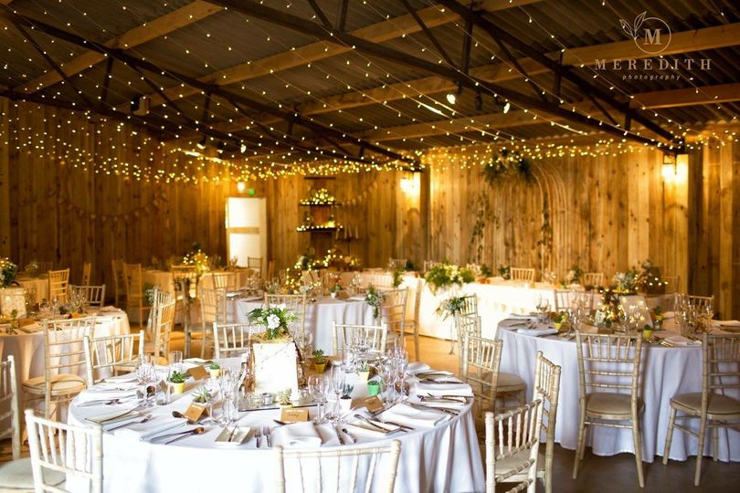 Alcumlow Wedding Barn Interior