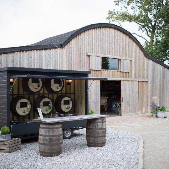 Alcumlow Wedding Barn Bar