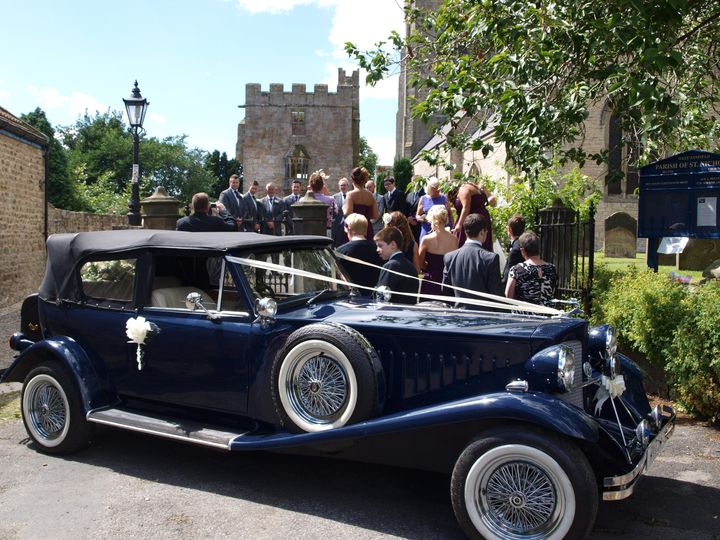 Guests @ West Tanfield Church