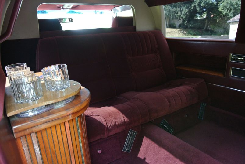 Other side of the limousine