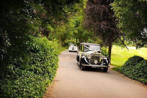 Moor Hall drive