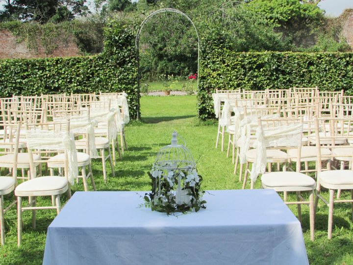 Ceremony in Strawberry Garden