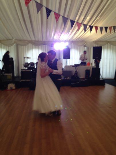 First dance....