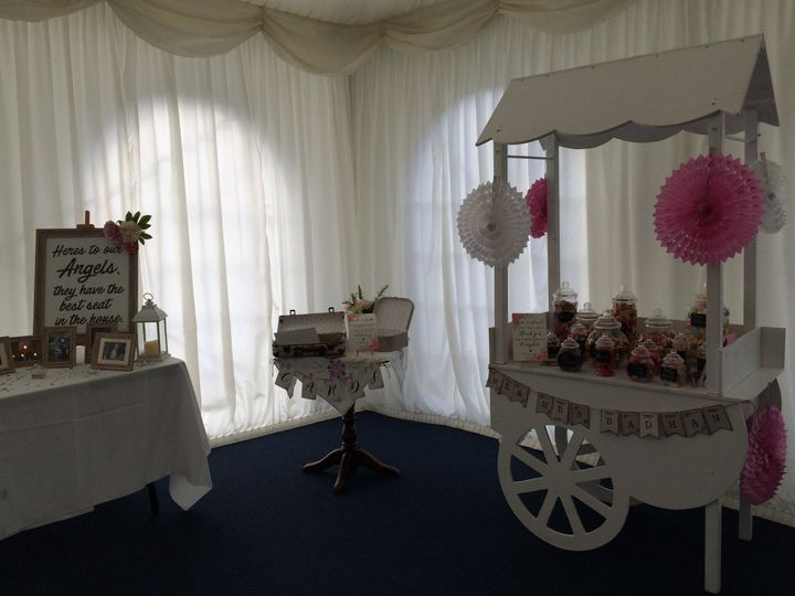 Sweet cart available to hire..