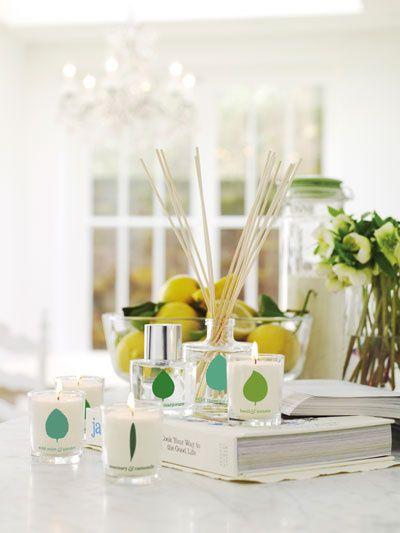 The beautiful fragrance range