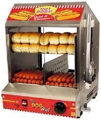 Hot dog machine for hire