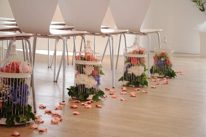 Flower flooring