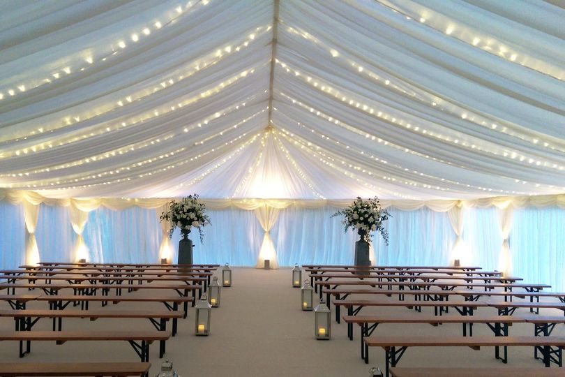 LED fairy lights marquee