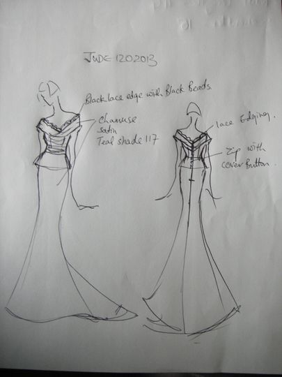 Design sketche dor Jude
