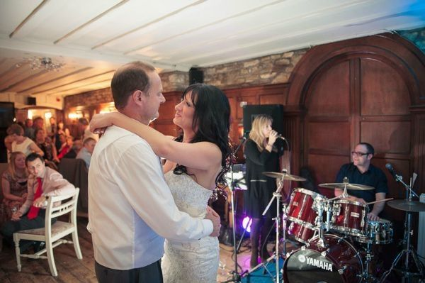 First dance for Gaye and Chris