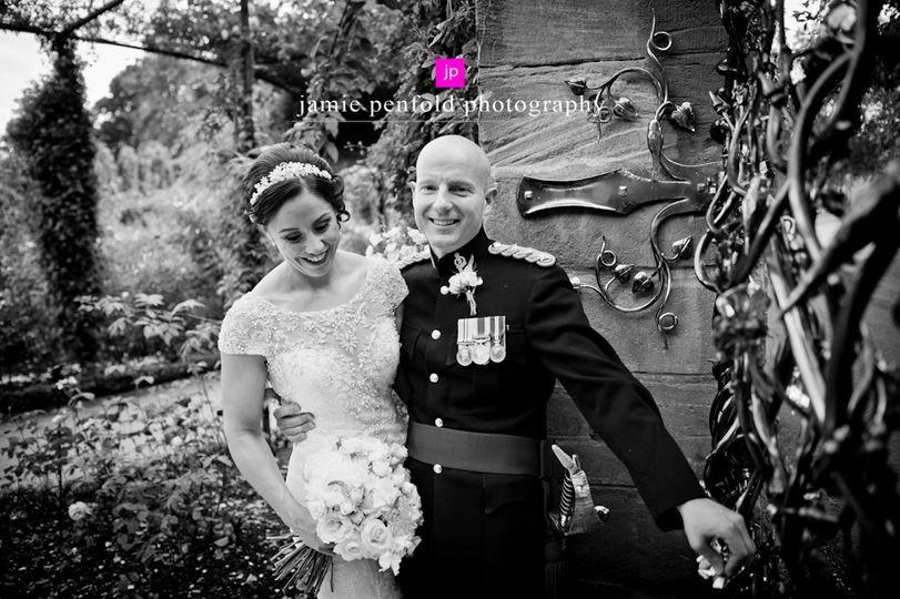 Alnwick garden wedding