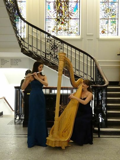 Acacia flute and harp duo