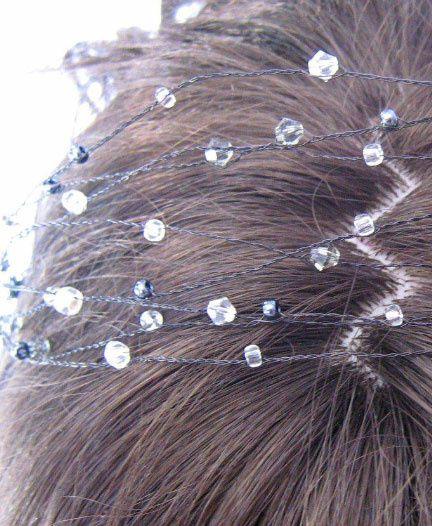 Beaded hair accessory