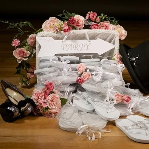 Wedding Flip Flop Basket from Angels Wedding Packages | Photos
