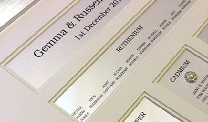 Elegant Wedding Stationery by Michele Blott 2
