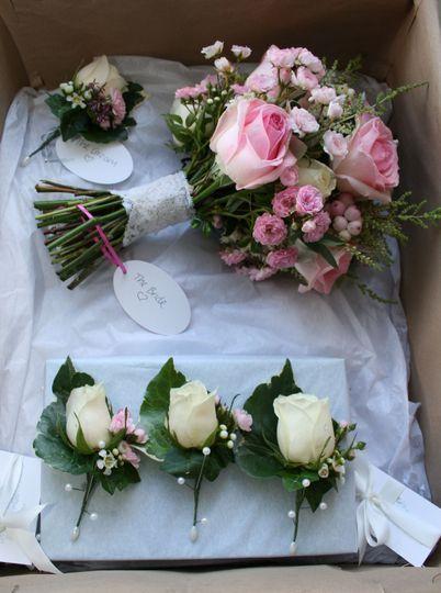 Sorbet Rose Bouquet